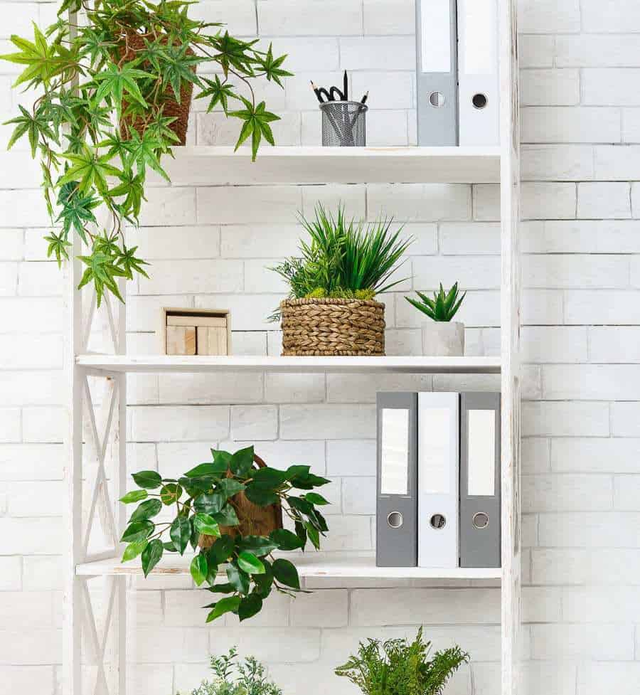 styling modern farmhouse bookcases